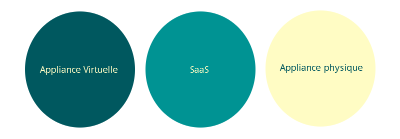 SaaS / Physique / Virtuelle