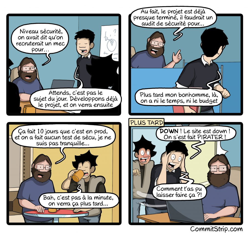 Strip securite informatique sih
